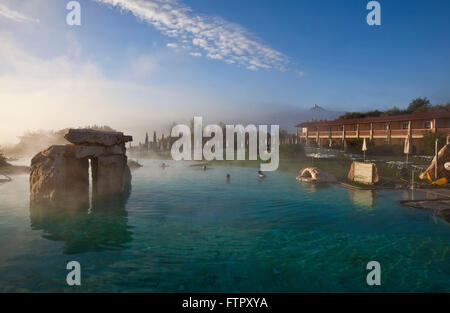 hotel adler thermae spa relax resortbagno vignonitoscana stock photo