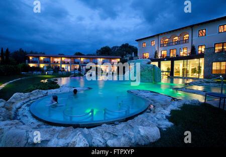 Hotel Adler Thermae Spa & Relax Resort,Bagno Vignoni,Toscana Stock ...
