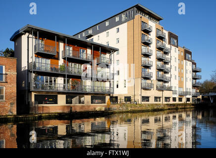 Modern Riverside Buildings With Reflections In The River Ayr At Ayr Stock Photo Royalty Free