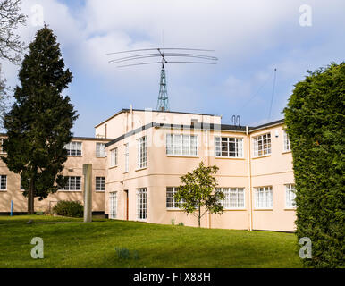 Block B ((where codebreakers tackling the enigma machine worked) at Bletchley Park, England. - Stock Photo