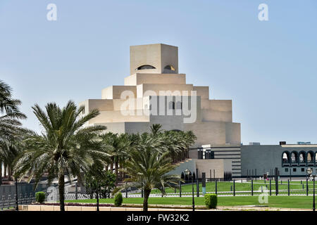 The Museum of Islamic Art, Doha, Qatar - Stock Photo