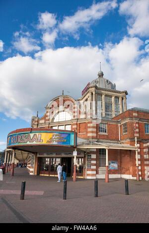 The Kursaal amusement park in Southend-On-Sea, Essex, England, United Kingdom - Stock Photo