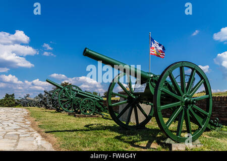 Kalemegdan Fortress in Belgrade, capital of Serbia. - Stock Photo