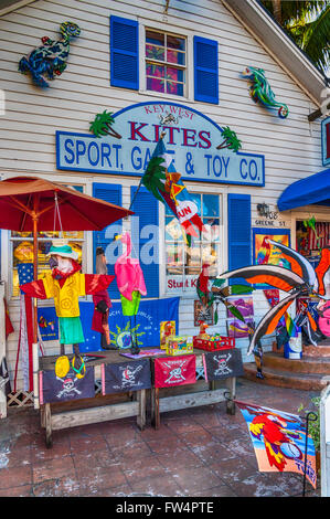 souvenirs key west florida usa stockfoto lizenzfreies