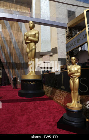 88th Annual Academy Awards at the Dolby Theatre  Featuring: The Oscars Where: Hollywood, California, United States - Stock Photo