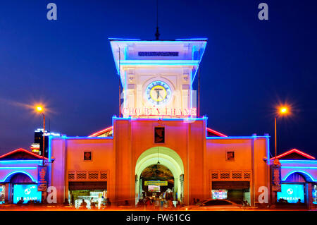 Ben Thanh Market, Ho Chi Minh City, Vietnam - Stock Photo