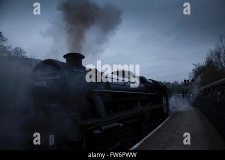 NYMR 'North Yorkshire Moors Railway' - Stock Photo