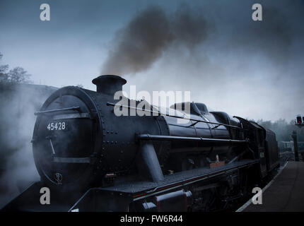 NYMR North Yorkshire Moors Railway - Stock Photo