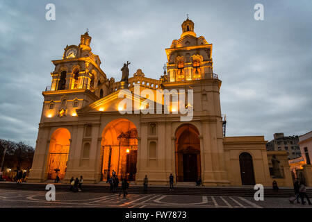 Cathedral, Iglesia Catedral de Córdoba, Cordoba, Argentina - Stock Photo