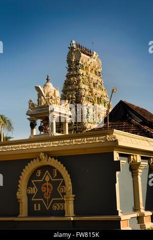 Sri Lanka, Trincomalee, Customs Road, Kandaswamy Shiva Temple - Stock Photo