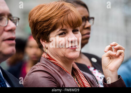New York, NY - Approximately 200 Pro Choice advocates rallied in Columbus Circle, outside Trump Hotel and Towers, - Stock Photo