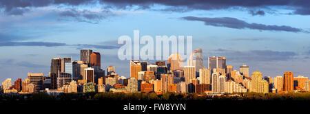 Panoramic view of Calgary - Stock Photo