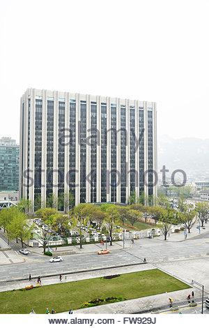 Ministry of the Interior, Seoul, South Korea - Stock Photo