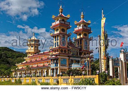 Church near Nha Trang, Khánh Hòa Province, Vietnam - Stock Photo