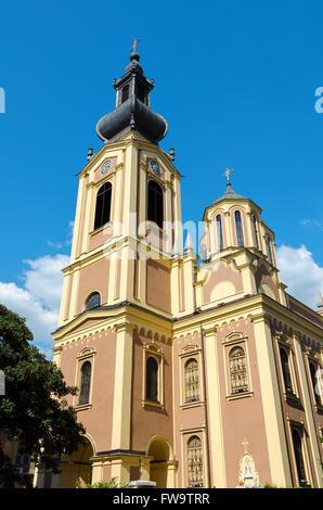 Serb Orthodox Cathedral Sarajevo - Stock Photo