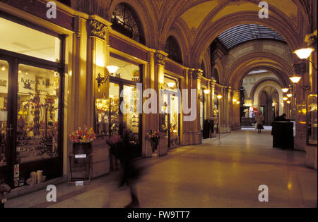 AUT, Austria, Vienna, the Freyung arcade at the Palais Ferstel.  AUT, Oesterreich, Wien, die Freyung-Passage im - Stock Photo