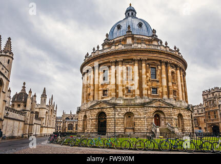 Radcliffe Camera Building, Oxford UK - Stock Photo