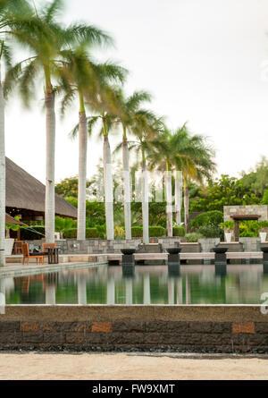 Four Seasons Hotel in Mauritius. - Stock Photo