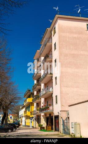 Buildings in Santa Maria Capua Vetere - Stock Photo