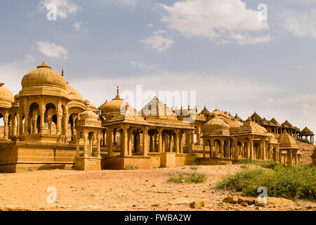 Bada Bagh, Jaisalmer, Rajasthan, India - Stock Photo