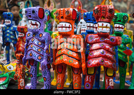 Nim Po't, souvenir shop in Antigua, Guatemala. Typical painted dolls. Nimpot is a handicraft shop located in the heart of Antigu