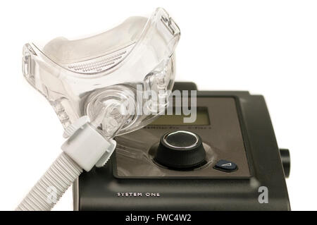 how to set respironics cpap machine