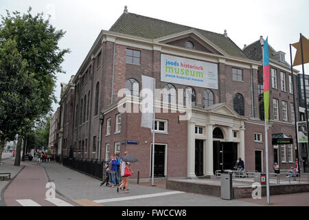 The Jewish Historical Museum (Joods Historisch Museum) in Amsterdam, Netherlands. - Stock Photo