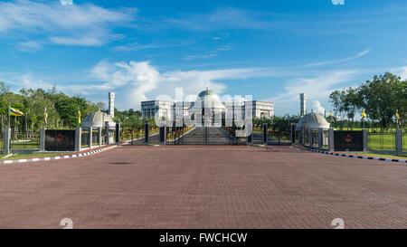 Jabatan Perdana Menteri, the Prime Minister's Office in Bandar Seri Begawan, Brunei Darussalam. - Stock Photo