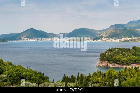 Montenegro Adriatic coast - Stock Photo