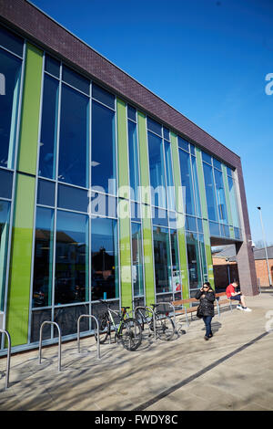 Arcadia Library And Leisure Centre Four Lane Main Swimming Pool Stock Photo Royalty Free Image