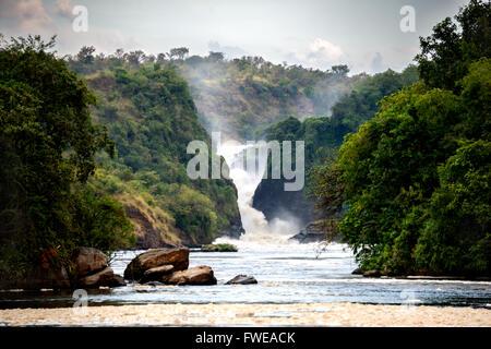 Murchison Falls - Stock Photo