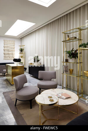 architect view of the personal shopping area showing concierge desk and setting selfridges manchester - Concierge Desk Design