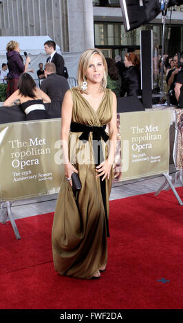 Tory Burch at the Metropolitan Opera 125th Anniversary Season Opening Red carpet arrivals, New York City, USA, 22 - Stock Photo