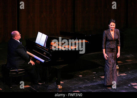 Anna Netrebko at the special tribute to the late soprano Beverly Sills. Lincoln Center for the Performing Arts, - Stock Photo