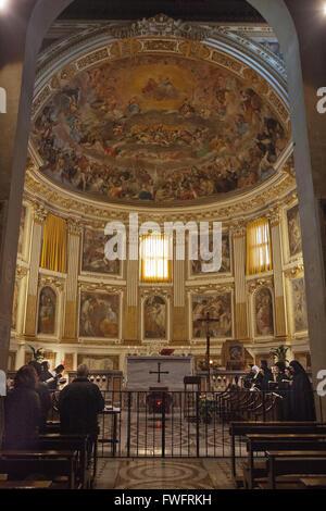 ROME,ITALY: Basilica di San Clemente - Stock Photo