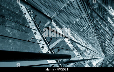 Modern abstract architecture. - Stock Photo