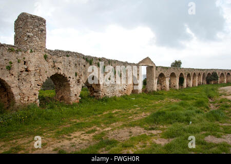 Ruins in Peloponnese, Greece - Stock Photo