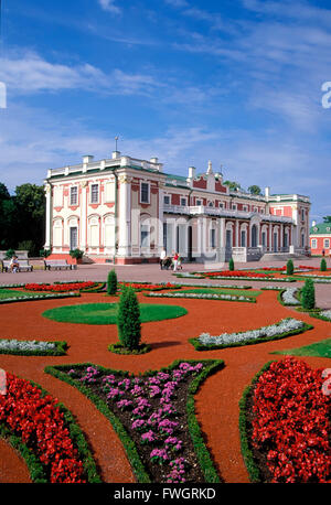 Kadriorg castle, Tallinn, Estonia, Europe - Stock Photo