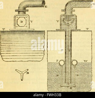 The Civil engineer and architect's journal, scientific and railway gazette (1839) - Stock Photo