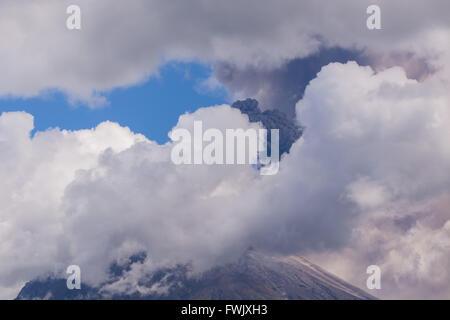 Tungurahua Is Located In The Cordillera Oriental Of Ecuador, South America