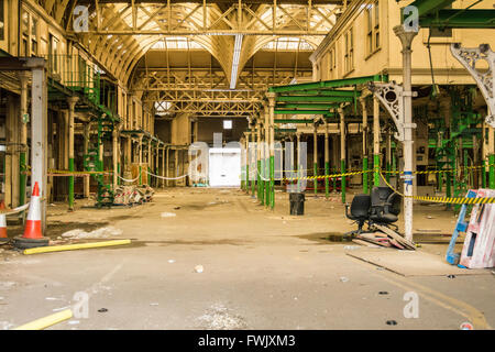 The remnants of Smithfield Meat Market in Central London, UK - Stock Photo