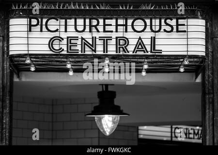 Picturehouse Central Cinema London Shaftesbury Avenue - Stock Photo