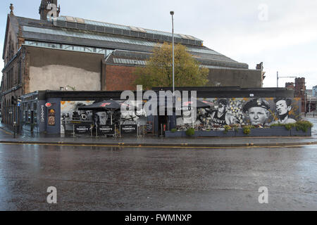 The Clutha Vaults pub in Glasgow - Stock Photo
