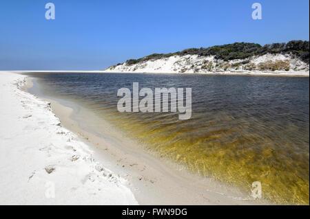 View of Nanarup Beach, Western Australia, WA, Australia - Stock Photo