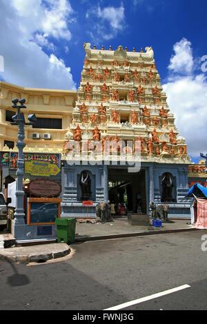 Sri Senpaga Vinayagar Temple, Hindu and Indian Style, in Singapore - Stock Photo