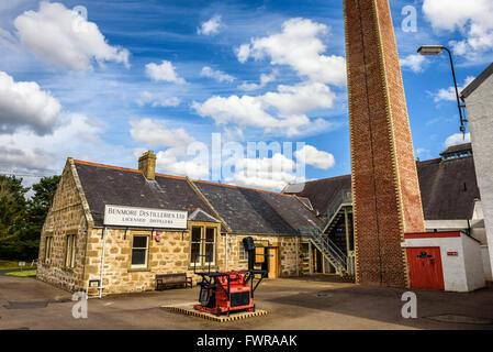 Exterior of the Dallas Dhu distillery - Stock Photo