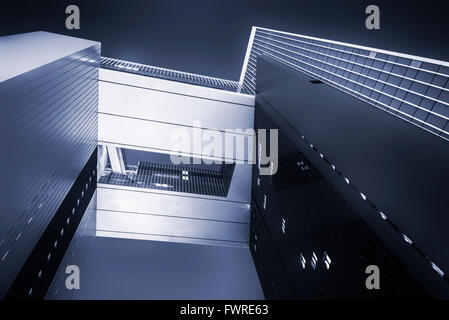 Central government complex in Hong Kong - Stock Photo