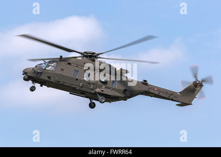 Italian Army (Esercito Italiano) NHI (NH Industries) NH-90 Multirole military helicopter MM81544 - Stock Photo