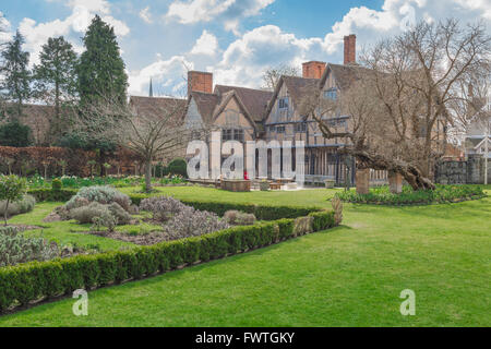 The rear of Hall's Croft, the substantial Jacobean home of ...