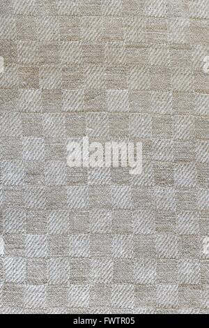 Linen tablecloth texture wallpaper - Stock Photo